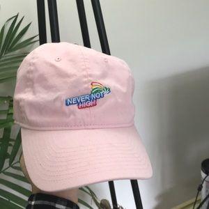 Other - kimoji pink Dad hat
